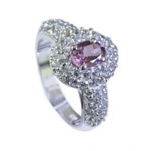Buy Riyo Tourmaline Branded Silver Jewellery Sports Ring Sz 7 Srtou7-84074 online