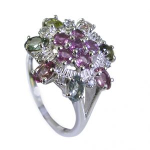 Buy Riyo Tourmaline Contemporary Gimmal Ring Sz 7 Srtou7-84105 online