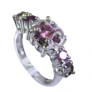 Buy Riyo Tourmaline Dark Silver Jewelry Thumb Ring Sz 7 Srtou7-84114 online