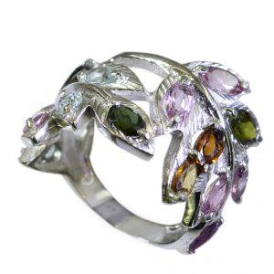Buy Riyo Tourmaline Design Silver Jewelry Wedding Ring Jewelry Sz 7 Srtou7-84116 online