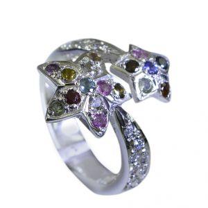 Buy Riyo Tourmaline Essential Silver Jewellery Cocktail Ring Sz 7.5 Srtou7.5-84124 online
