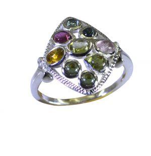 Buy Riyo Tourmaline 925 Solid Sterling Silver Creative Ring Srtou90-84144 online