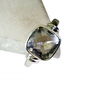 Buy Riyo White Cz Inspirational Silver Jewelry Silver Ring Setting Sz 8 Srwhcz8-110016 online