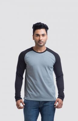 Buy Cult Fiction Cotton Grey Solid Men