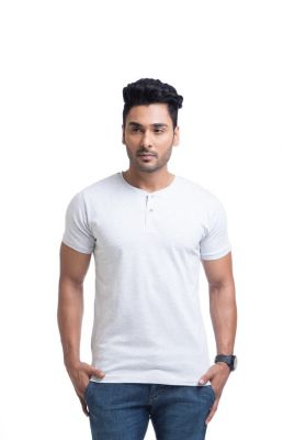 Buy Cult Fiction Cotton White Solid Men