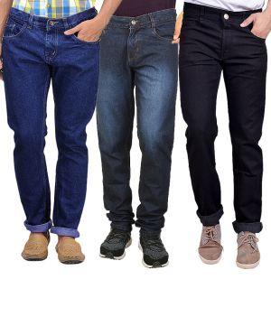 Buy Masterly Weft Trendy Regular Fit Jeans Pack Of 3 For Men_d-d-d-d-jen-1-2-5 online