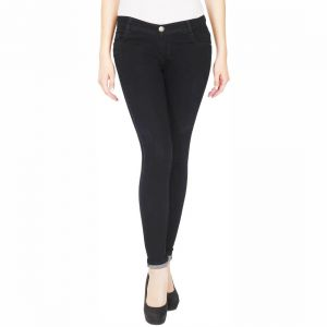 8239b6be2c5 Buy Masterly Weft Slim Fit Black Jeans For Women D-girl-1f Online ...