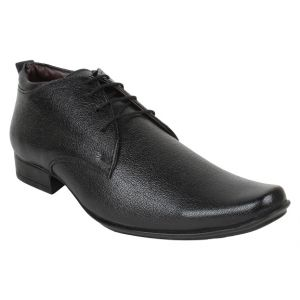 Buy Firemark Mens Artificial Leather Black Slip On Formal Shoes - (product Code - Frical-2002blk) online