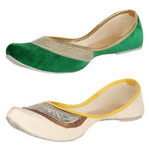 Buy Sassily Womens Gorgeous Designer Jutti (ss-217_226) online