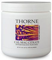 Buy THORNE RESEARCH - Calcium-Magnesium Citrate Effervescent - 8oz Misc. online