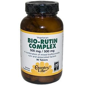 Buy Country Life Citrus Bio-rutin Complex 500 Mg/500 Mg, Tablets, 90-count online