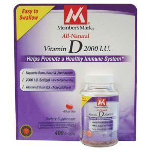 Buy Member's Mark - Vitamin D 2000 IU online
