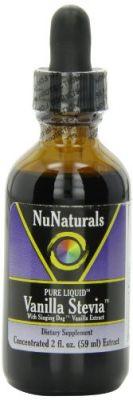 Buy Nunaturals Pure Liquid Vanilla Stevia, 2 Ounces (pack Of 2) online