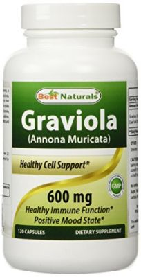 Buy Best Naturals, Graviola, Annona Muricata, 600 Mg, 120 Capsules online