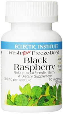 Buy Eclectic Institute - Black Raspberry Freeze-dried, 300 Mg, 90 Capsules online