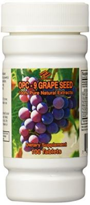 Buy Nuhealth Opc Grape Seed, 100mg 100 Tablets online