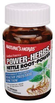 Buy Nature's Herbs Nettle Root-Power -- 300 mg - 60 Capsules online