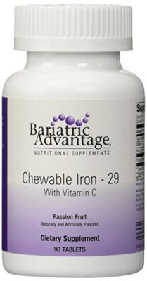 Buy Bariatric Advantage Chewable Iron Passion Fruit 90 Ct online