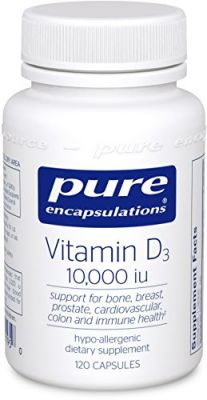 "Pure Encapsulations - Vitamin D3 10,000 Iu 120""s"