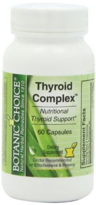 Buy Botanic Choice Thyroid Complex Capsules online