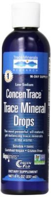 Buy Trace Minerals Research - Concentrace Trace Mineral Drops, 8 Fl Oz Liquid online