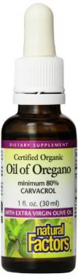 Buy Natural Factors Oil Of Oregano, 1 Ounce online