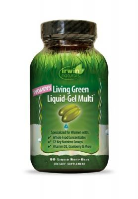 Buy Irwin Naturals Women's Living Green Liquid-Gel Multi Soft-Gels online