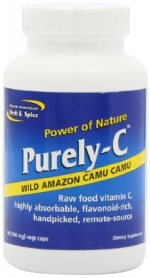 Buy North American Herb and Spice, Purely-C Capsules, 700 Mg  90-Vegi Caps online