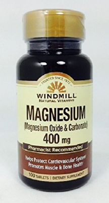 Buy Windmill Vitamin Magnesium Oxide 400 Mg - 100 Tablets online