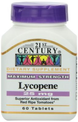 Buy 21st Century Lycopene 25 Mg Tablets, 60-count online