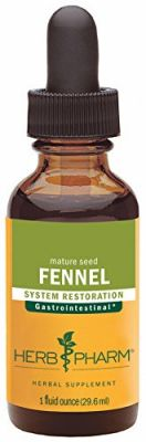 Buy Herb Pharm Certified Organic Fennel Extract For Digestive System Support - 1 Ounce online