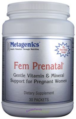 Buy Metagenics, Fem Prenatal, 30 Packets online