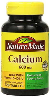 Buy Nature Made Calcium With Vitamin D 600mg, 60 Tablets (pack Of 3) online