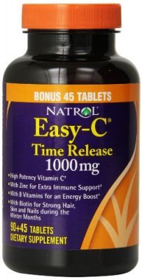 Buy Natrol Easy-c 1000mg Tablets, Time Release With Bioflavonoids, 135-count online