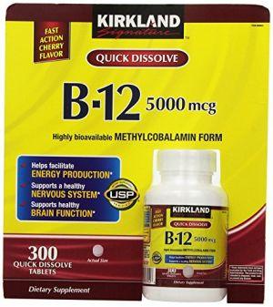 Buy Kirkland Signature Sublingual B-12 5000 Mcg, 300 Tablets online
