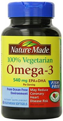 Buy Nature Made Omega 3 Vegetarian Softgels, 540 Mg. 60 Count online