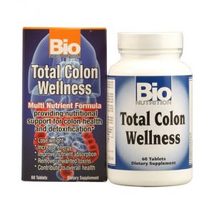 Buy Bio Nutrition Total Colon Wellness Tabs, 60 Count online