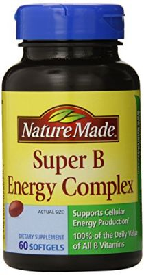 Buy Nature Made Super B Complex Full Strength Softgel, 60 Count online