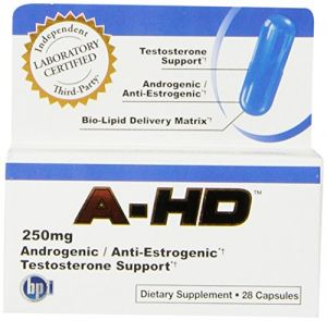 Buy BPI A-HD Androgenic/Anti-Estrogen Testosterone Support Formula online