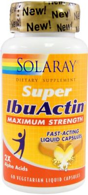Buy Solaray Super Ibuactin 60 Capsules. online
