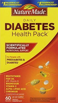 Buy Nature Made Diabetes Health Pack, 60 Packets online