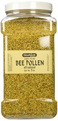 Buy Stakich BEE POLLEN GRANULES 5 lb - 100% Pure, Natural, Unprocessed -