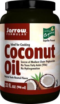 Buy Jarrow Formulas Coconut Oil 100% Organic, 908 Grams online