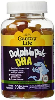 Buy Country Life Dolphin Pals Dha Gummies For Kids, 90 Variety online