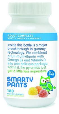 Buy Smartypants Vitamins Adult Gummy Multivitamins Plus Omega 3