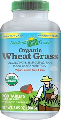 Buy Amazing Grass Organic Wheat Grass, 200 Count, 1000mg Tablets online