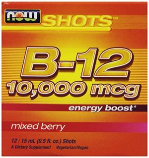 Buy Now Foods B-12 10,000mcg Shots 0.5 Ounce 12 Count Box Mixed Berry online