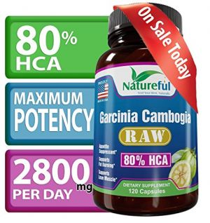 Buy : Raw 80% Hca - 120 Count? Lose Weight Or Your Money Back ? Natural Pure Fruit Extract. online