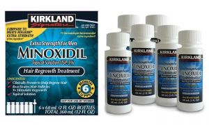 Buy Kirkland Minoxidil Hair Regrowth For Men 6 Months (360 Ml) online