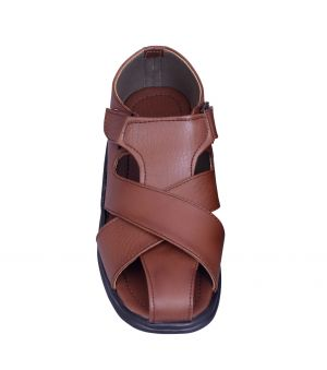 Buy Men's Tan Comfy Sandals Sn102-a50tn online